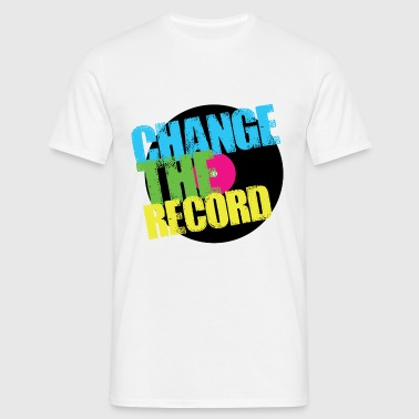Change The Record - Men's T-Shirt