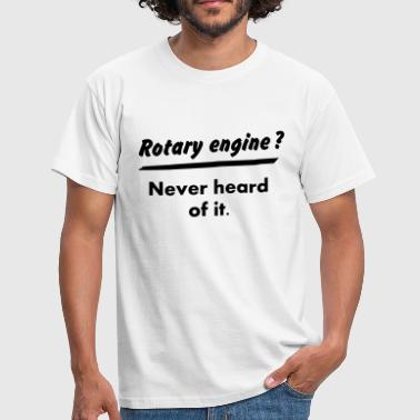 JDM What's a rotary engine ? | T-shirts JDM - Männer T-Shirt