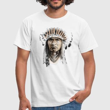 Indian - Mannen T-shirt