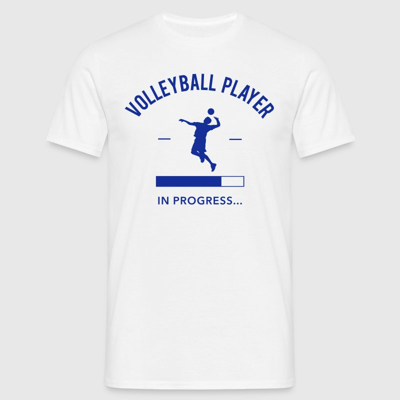 Volleyball Player loading - T-shirt Homme