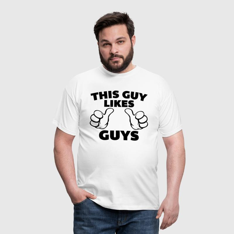 This Guy Likes Guys - Men's T-Shirt