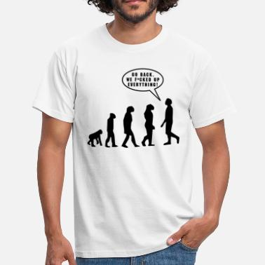 Back Evolution - Men's T-Shirt