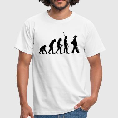 Evolution Zimmermann - Männer T-Shirt