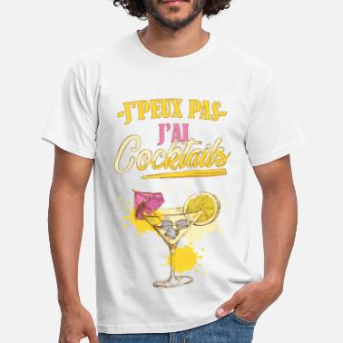 Cocktail Humour Jai cocktails - T-shirt Homme