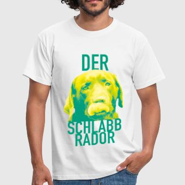 The Schlabbrador - Citron Style - Herre-T-shirt