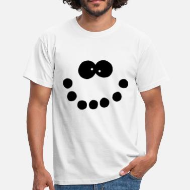 Jesus Face Snowman Face  - Men's T-Shirt