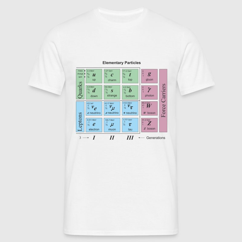Elementary Particles - Men's T-Shirt