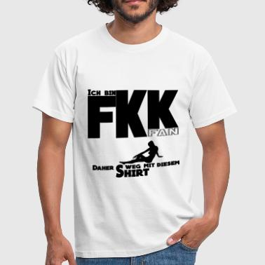 FKK Fan by Claudia-Moda - Männer T-Shirt