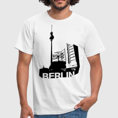 Alexanderplatz in Berlin - Men's T-Shirt