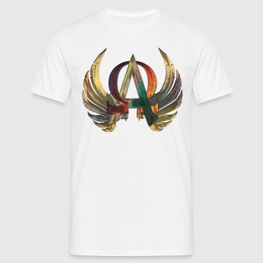 ALPHA & OMEGA ornament - Männer T-Shirt