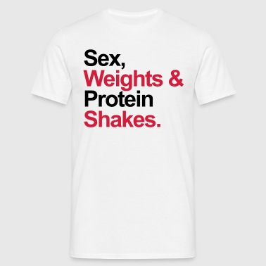 Protein Shakes  - T-shirt Homme