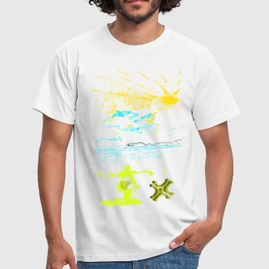 Sun and Sea of Adiswebs - Men's T-Shirt