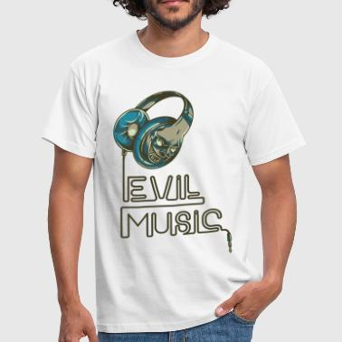 Evil Music - bananaharvest - Men's T-Shirt