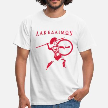 Lakedaimon Spartan 7 + Lakedaimon - Men's T-Shirt