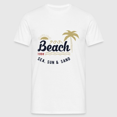 Outdoor beach - T-shirt Homme