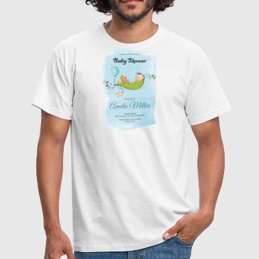baby shower - Mannen T-shirt