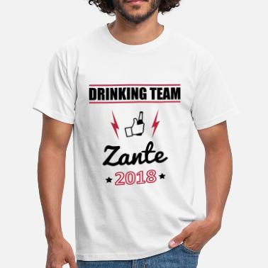 Zante Drinking Team 2018 Zante - Men's T-Shirt