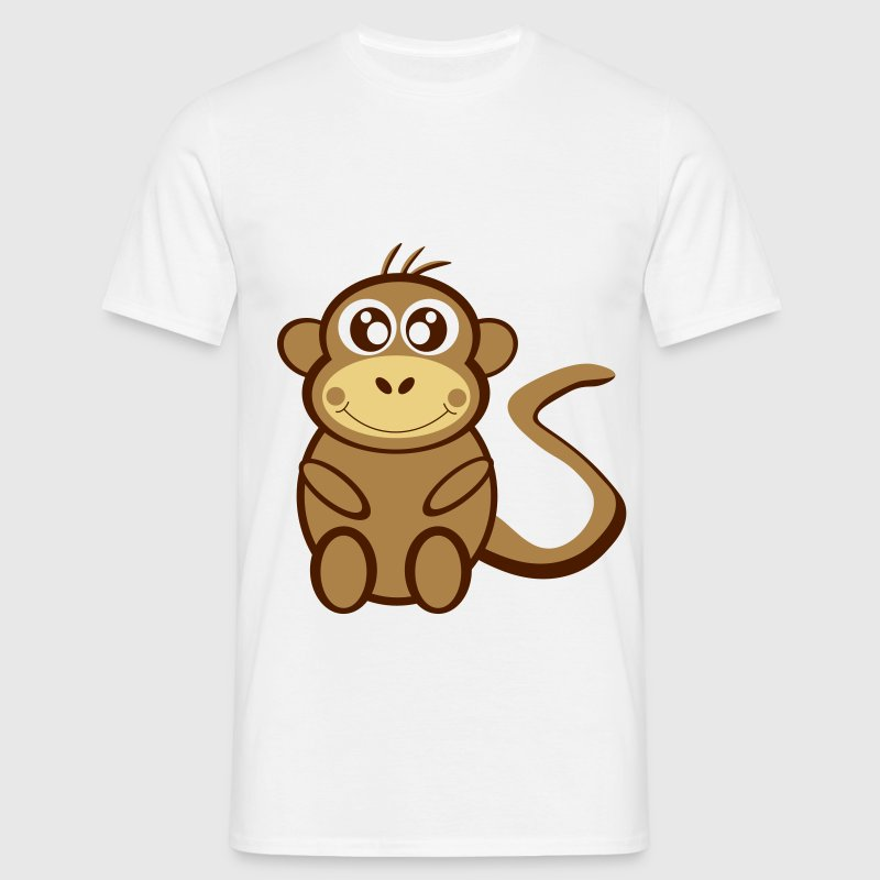 Cartoon monkey - Men's T-Shirt