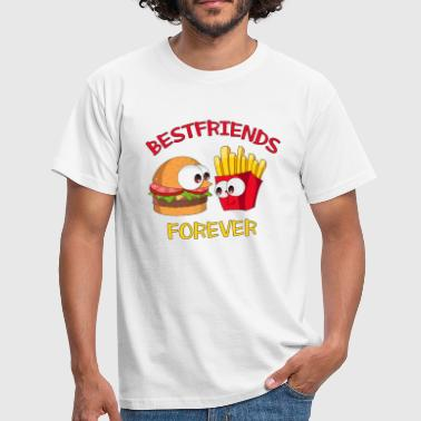 Best friends forever BFF - Männer T-Shirt