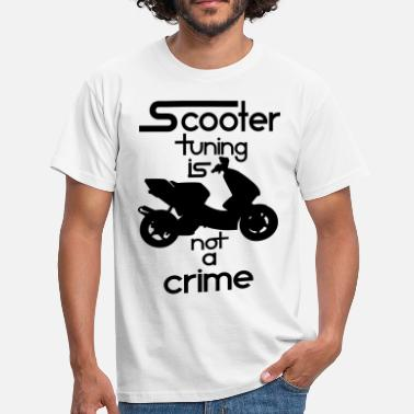 Scooter Tuning Scooter tuning is not a crime! Vol. III HQ - Männer T-Shirt