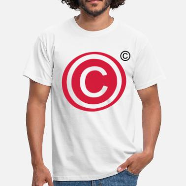 Copyright Copyright copyright - Men's T-Shirt