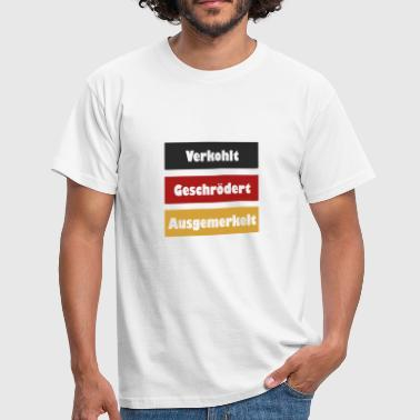 Charred Screeched Diggered - Mannen T-shirt