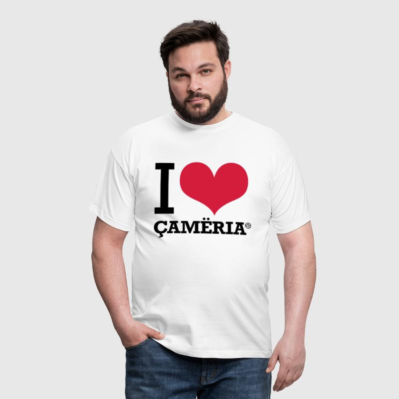 I LOVE CAMERIA - Men's T-Shirt