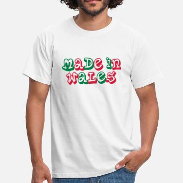 Made In Wales Made in Wales - Men's T-Shirt