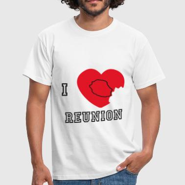 i love reunion 10 - T-shirt Homme