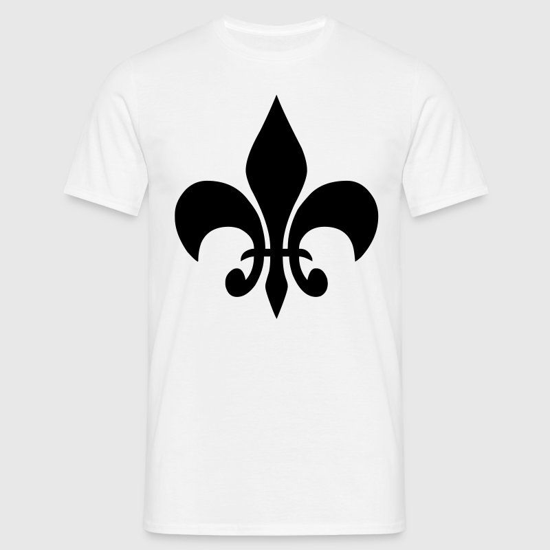 fleur de lis french lily - Men's T-Shirt