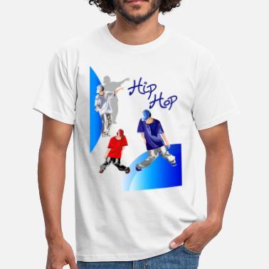 d4f9964da488e Hip Hop Deporte dibujo de hiphop - Camiseta hombre
