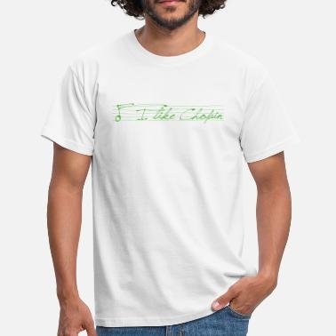 Synth-pop I like Chopin (green) - Männer T-Shirt