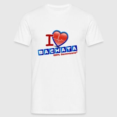 I love bachata 2 (grand motif) - T-shirt Homme