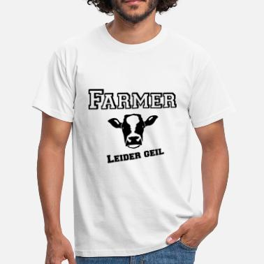 Boobs Shop farmer leider geil - Men's T-Shirt