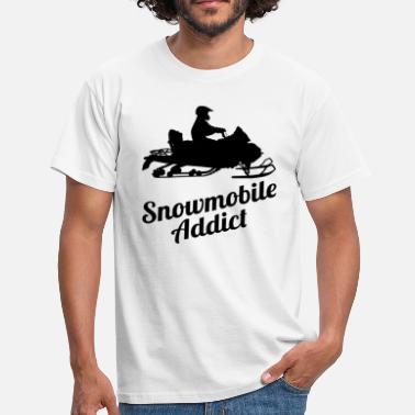 Snowmobile Snowmobile Snowmobile Winter Snowmobile - Men's T-Shirt