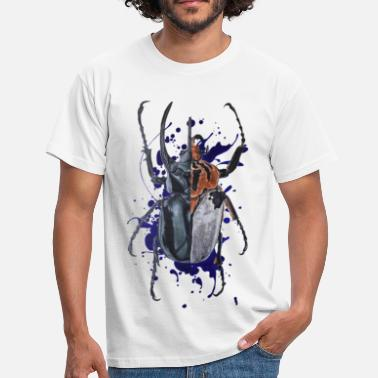 Insect Coleoptera insect - Mannen T-shirt