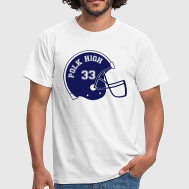 Al Bundy Polk high de casque de football  - T-shirt Homme