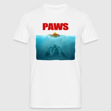 Cat paws - Mannen T-shirt