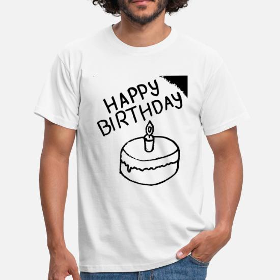 Bon Anniversaire T Shirt Homme Spreadshirt