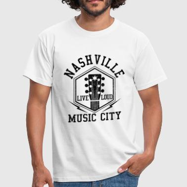 Country Nashville Tennessee - Country Musik - Männer T-Shirt