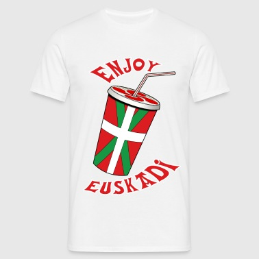enjoy euskadi - Men's T-Shirt