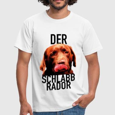 Schoko The Schlabbrador - Schoko Edition - Men's T-Shirt