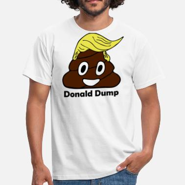 Dumped Donald dump - Men's T-Shirt