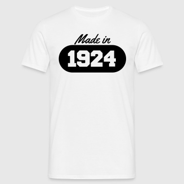 Made in 1924 - Men's T-Shirt
