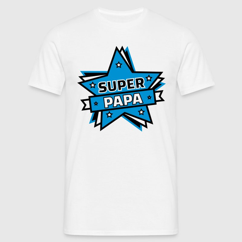 super papa - T-shirt Homme