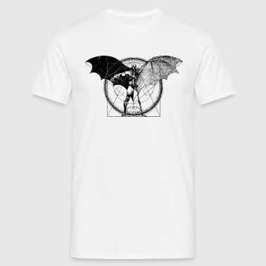 Batman Wings T-shirt tonåring - T-shirt herr