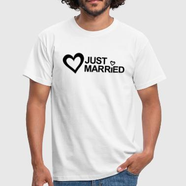 Registry Office MARRIAGE, MARRIED, MARRIED, honeymoons, LOVE - Men's T-Shirt