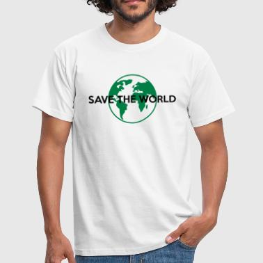 Save the world - Männer T-Shirt