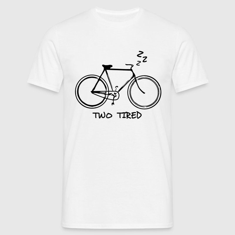 Two Tired - Cycle - Men's T-Shirt