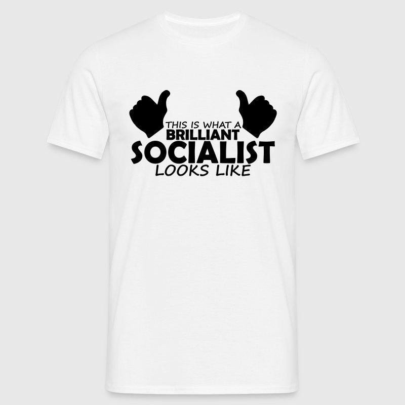 brilliant socialist t shirt spreadshirt